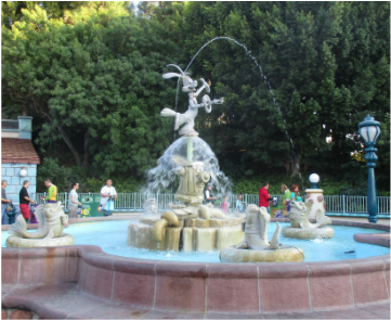 Roger Rabbit Fountain